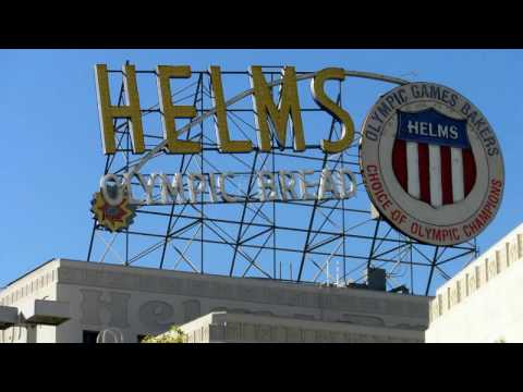 """Baby Boomers Tribute """"Daily at Your Door"""" The Helms Bakery Truck 1930's Los Angeles"""