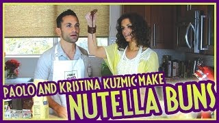 Making Nutella Buns with Oprah star Kristina Kuzmic