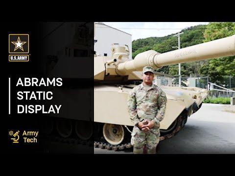 Abrams Static Display