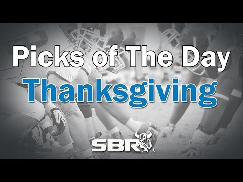 Thanksgiving Day NFL Picks with Sportsbook Review