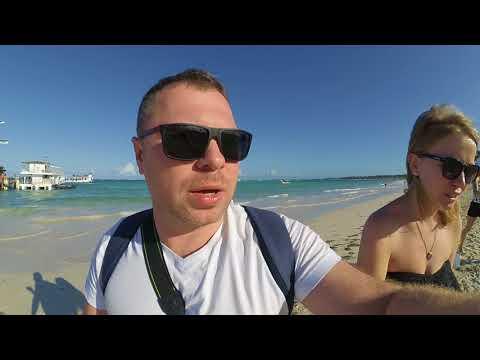 Доминикана  отель Now Larimar, пляж, водоросли, стоит-ли лететь в  январе