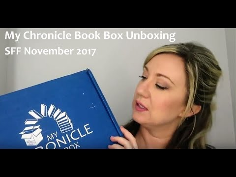 My Chronicle Book Box Unboxing by Lizzimia