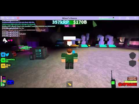 Roblox : Miners Haven New Codes - YouTube