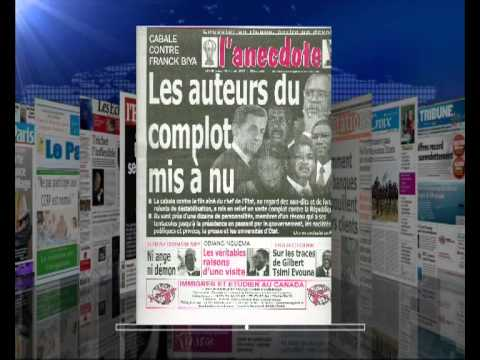 AFRIQUE MEDIA production-REVUE FRANCAISE  DU  3  12  2012 .flv