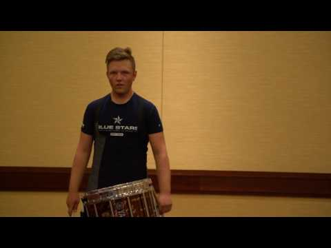 Zachary Wilson Snare I&E 2017 // 5th Place [Quality Audio]