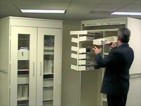 Exceptionnel MASS Medical Storage   Medical Storage Cabinets Demonstration   YouTube