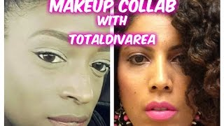 Makeup Collab with TotalDivaRea  |  CurlyKimmyStar Thumbnail