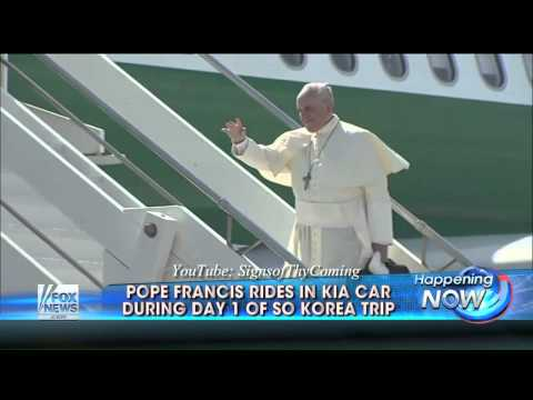 Vatican : North Korea fires rockets as The Second Beast seduces the Seoul of Korea (Aug 15, 2014)