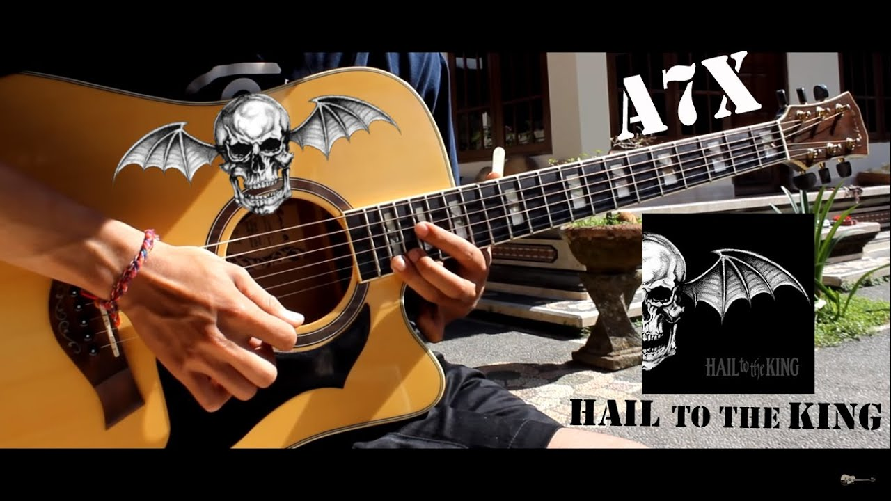 avenged sevenfold hail to the king acoustic version guitar solo cover youtube. Black Bedroom Furniture Sets. Home Design Ideas