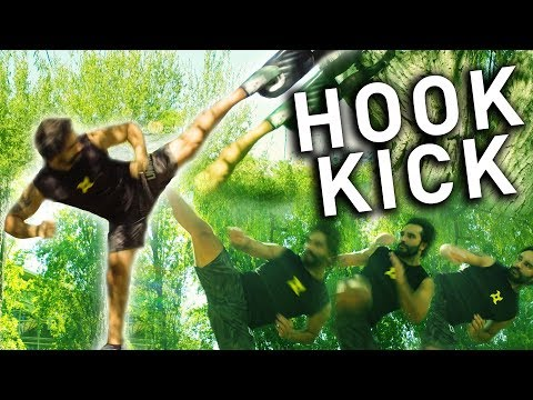 How to HOOK KICK - Kicking tutorial