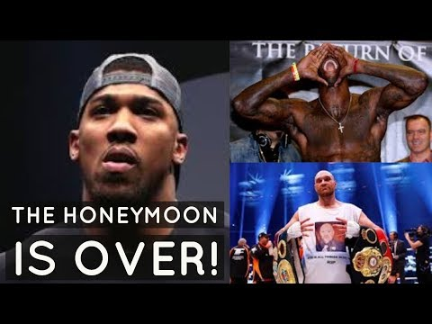 "PROOF ANTHONY JOSHUA DOESN'T WANT DEONTAY WILDER BOUT | BOMB SQUAD NEVER PART OF ""THE PLAN"""