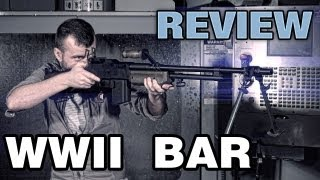 Ww2 Acm Bar Browning Automatic Rifle - Airsoft Support Gun - Epicairsofthd