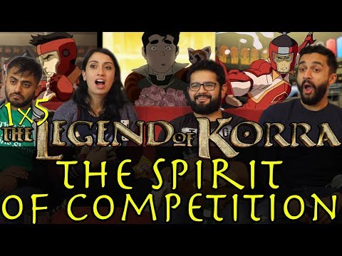 The Legend of Korra - 1x5 The Spirit of Competition - Group Reaction
