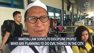 WATCH: Marawi residents flee clashes on Day 1 of Martial Law