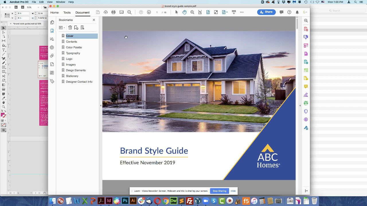 Brand Style Guide Builder Brand Style Guide Template Youtube