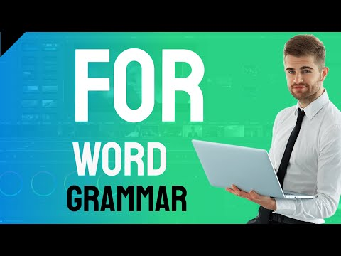 English Word Grammar for part 2