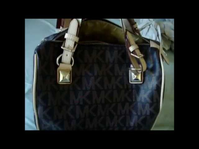 bf4a5802b Michael Kors Grayson fake! REVIEW /AAA/ ABRIL FUENTES - YouTube