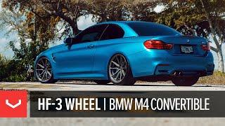 Vossen Hybrid Forged HF-3 Wheel   F82 BMW M4 Convertible