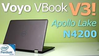 voyo VBook V3 Review 4k: Apollo Lake N4200 Pentium Processor!
