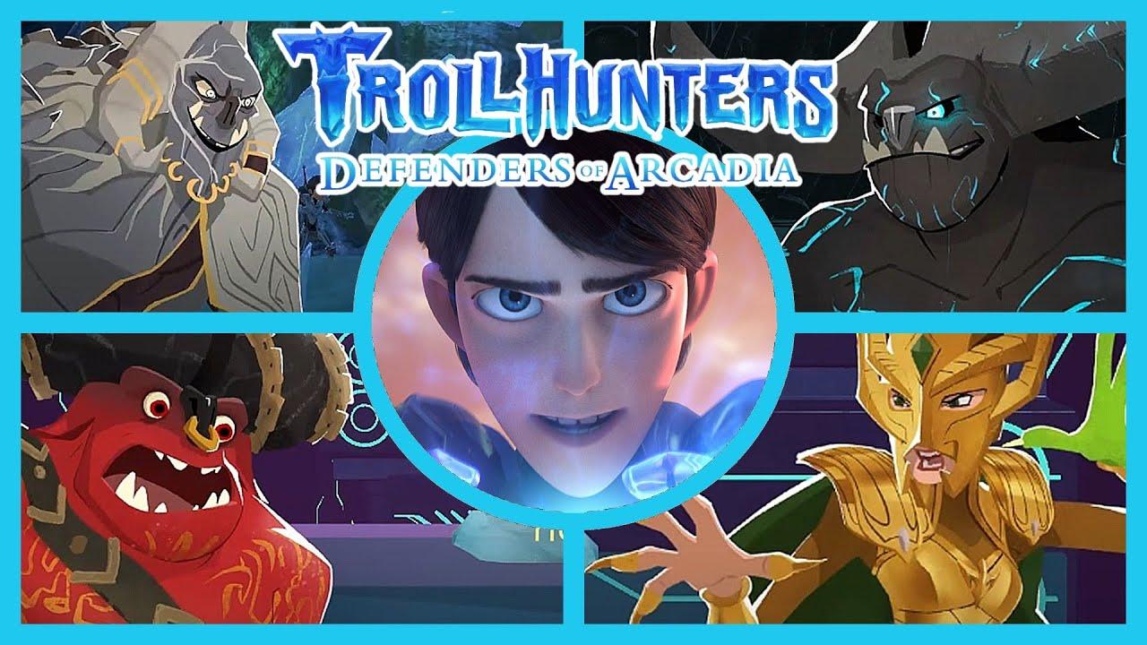 Download Trollhunters Defenders of Arcadia | Todos los Jefes Español
