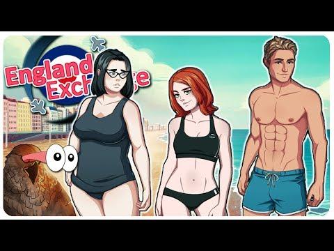Bikini Beach + Criminal Activities?!   England Exchange Gameplay #8 - Let's Play
