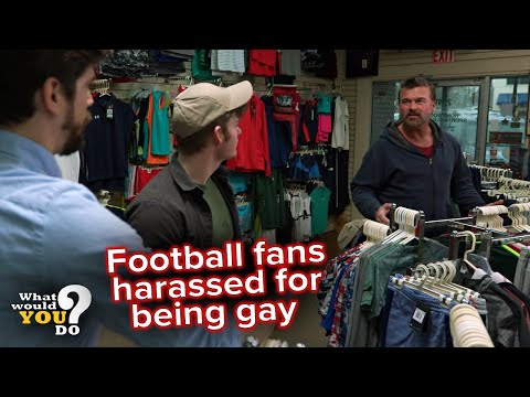 Football fans harassed for being gay | WWYD