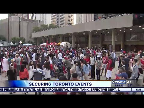 Toronto police rolling out new security protocols for large-scale events