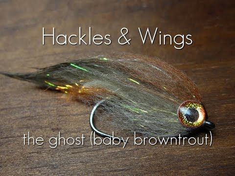 Fly Tying The Ghost (Baby Browntrout) | Hackles & Wings
