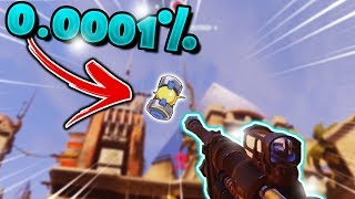 Overwatch - Best One In A MILLION Moments! (0.00001% Chance)
