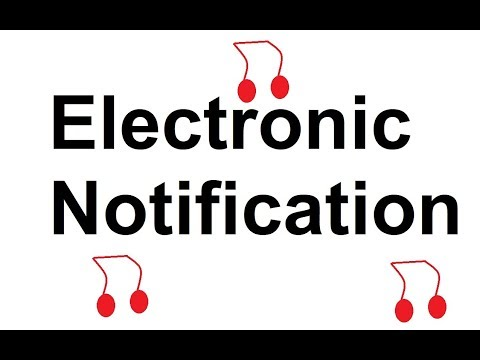 All Sound Effects: Electronic Notification sound effects all sounds