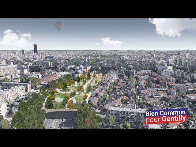 Présentation du projet de couverture de l'A6a à Gentilly - Bien Commun pour Gentilly