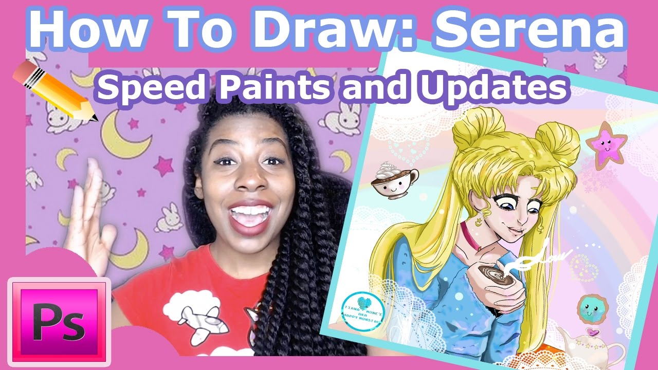 Sprinkle Panic/Happy Monstah: Speed Paints and Life Updates: Sprinkle Panic ????