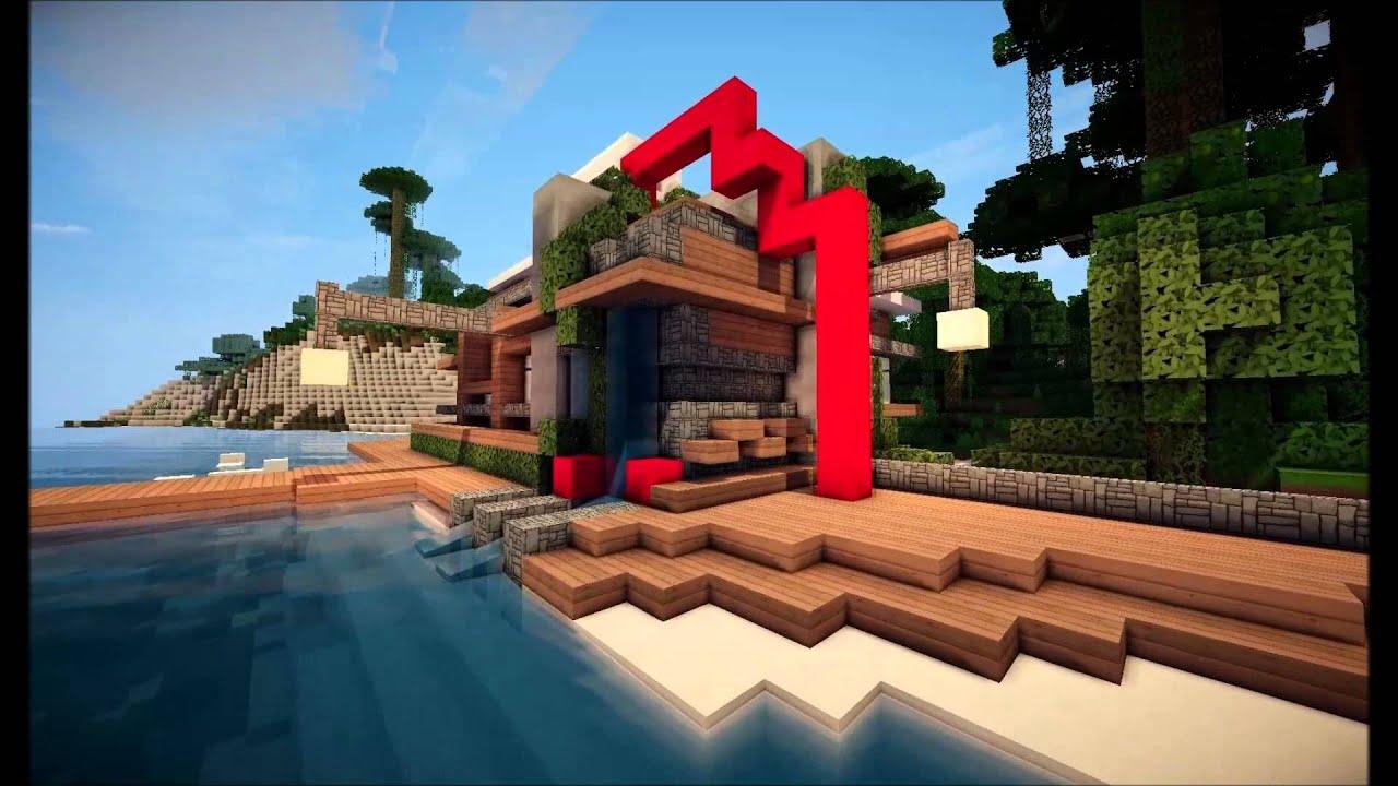 Architect post modern beach house youtube for Post modern house