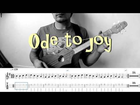 ODE TO JOY for M4 Merlin Dulcimer guitar, Dulcitar, Dulcimer Stick and Strumstick