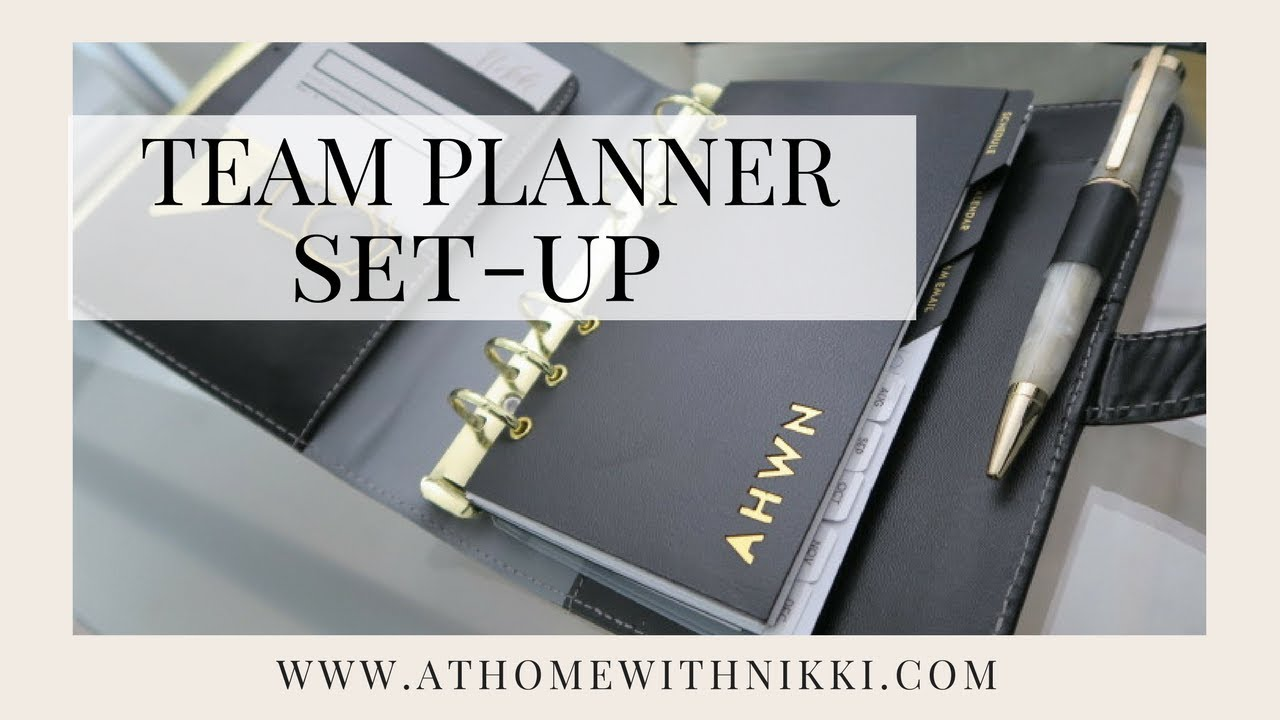 PLANNER SET-UP FOR MY SMALL BUSINESS | How I organize planners for my team