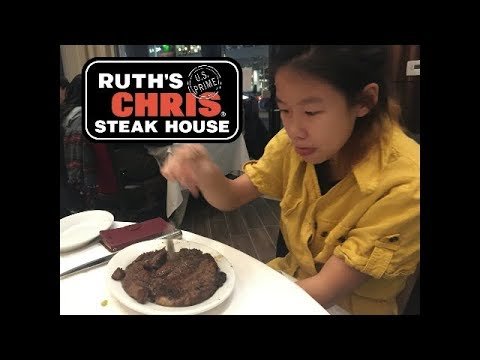 Dinner At The New Ruth's Chris Steak House In Downtown Markham