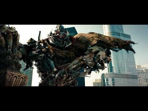 Transformers Dark of the Moon - All Megatron Scenes
