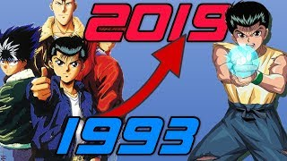 Evolution/History of Yu Yu Hakusho Games (1993-2019)