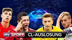 Hammergruppe für BVB - Glück für Bayern und RB | Champions League Auslosung 2019 | Gruppenphase