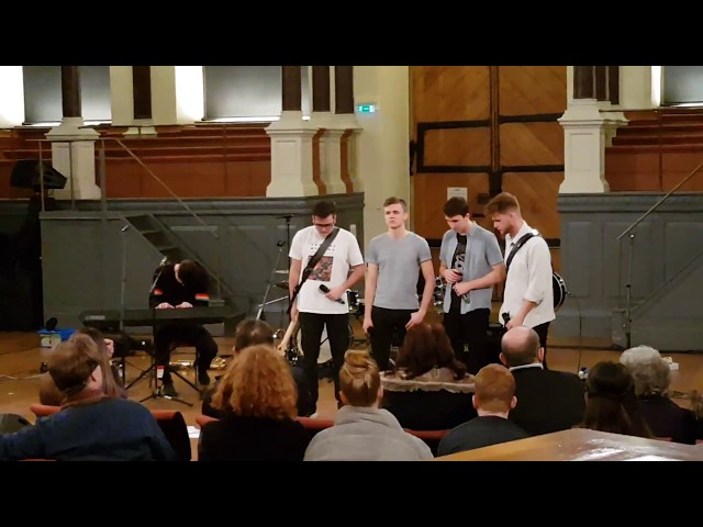FACES - Skin (RagnBone Man Cover) - Live at The Oxford Sheldonian Theatre