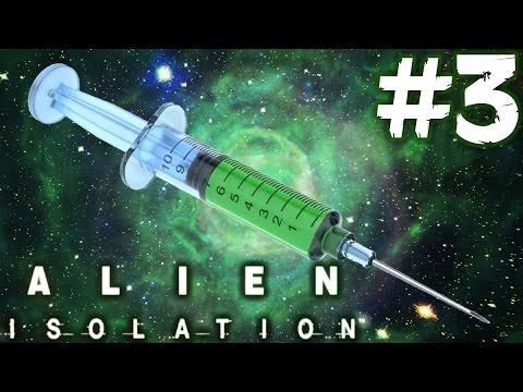 WELTRAUM DROGEN! - Alien Isolation Walkthrough Part 3 (Oculus Rift DK2) Alien Isolation | Deutsch