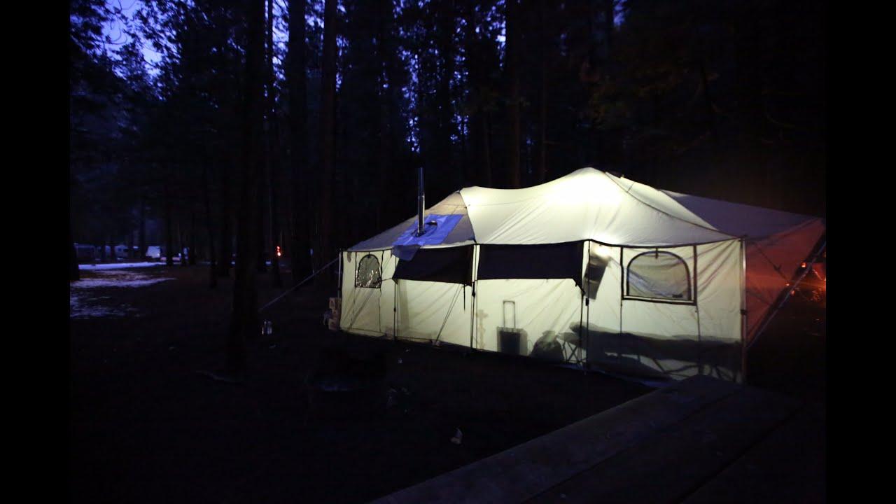 & Cabelau0027s Ultimate Alaknak™ Tent u2013 12u0027 x 20u0027 REVIEW - YouTube