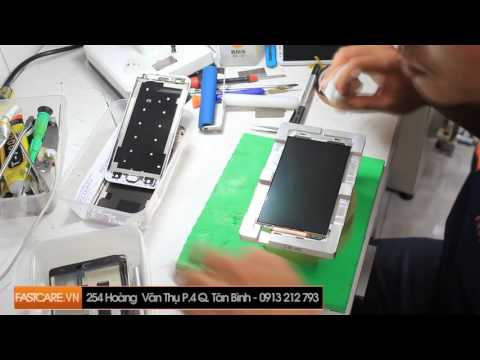 Thay mặt kính Samsung Galaxy Note 4 chính hãng, hướng dẫn chi tiết