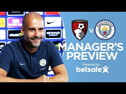 """""""NAPOLI ARE ONE OF THE BEST""""   Bournemouth v City Part 1   Premier League 2017/18"""