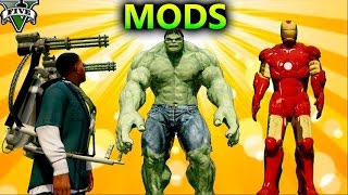 Video GTA 5 MOD DE HULK, IRONMAN, JETPACK Y METEORS + COMO INSTALAR TODOS LOS MODS DE JULIONIB download MP3, 3GP, MP4, WEBM, AVI, FLV April 2018