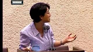 ערוץ הכנסת - חברי הכנסת מהסיעות הערביות קורעים את החוק, 24.6.13