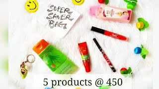 *NEW* Super Saver Bag| Beauty box @ ₹450 | November edition | Unboxing and Review thumbnail