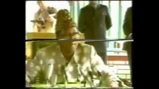 Mobutu Sese Seko- Conference de presse apres le discour du 24 Avril 1990