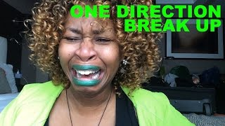 One Direction Break Up - GloZell