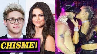 Repeat youtube video Selena Gomez Cita con Niall Horan y Ariana Grande Canceló Conciertos? - CHISMELICIOSO